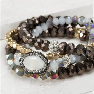 ⭐Coming Soon⭐ iridescent beaded bracelets